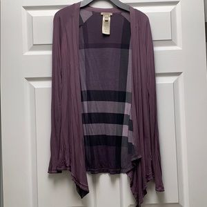 Burberry Reversible cardigan SP price is firm